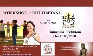 5 Riti Tibetani Workshop
